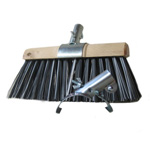 YARD BRUSH CLAMP