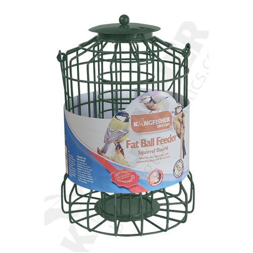 KINGFISHER SQUIRREL GUARD FAT BALL FEEDER (BF008FB)