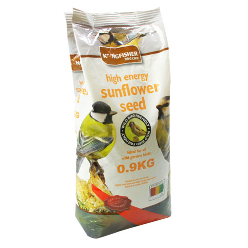 KINGFISHER SUNFLOWER SEED 0.9KG (BFWF04)