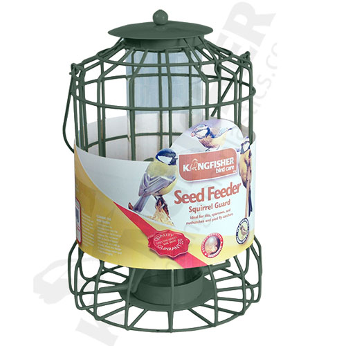 KINGFISHER SQUIRREL GUARD SEED FEEDER (BF008S)