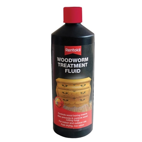PWT100 RENTOKIL WOODWORM TREATMENT 1L X 6