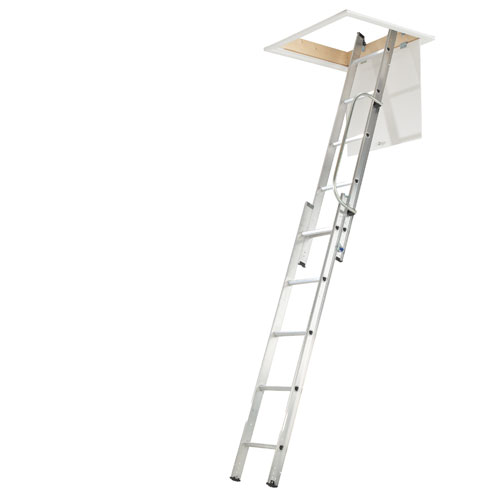WERNER  2 SECTION LOFT LADDER (38002)