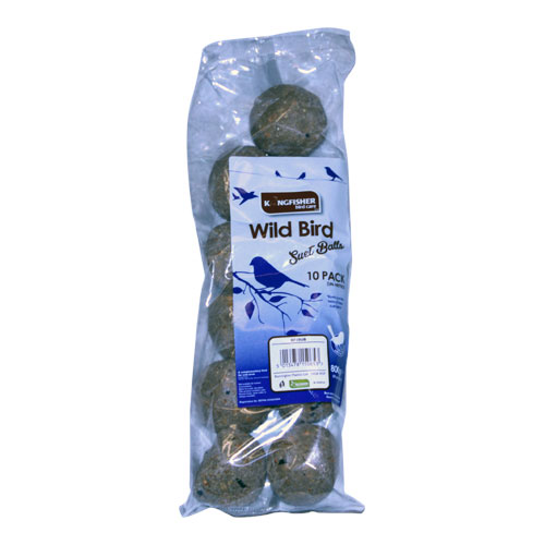 KINGFISHER FAT BALLS 10 PACK (BF10UB)