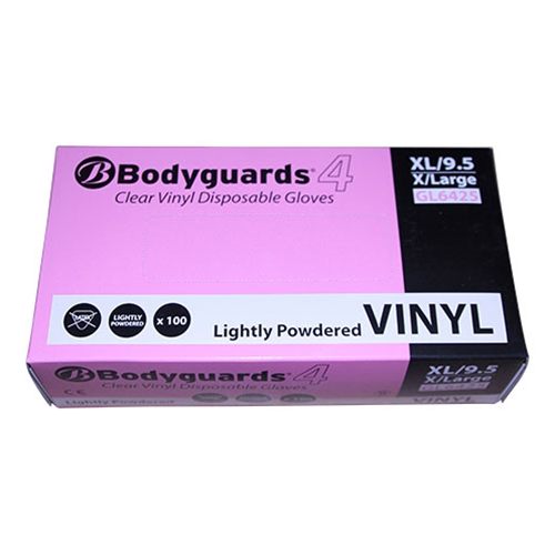 DISPOSABLE GLOVES (BOX OF 100) sizes M, L & XL
