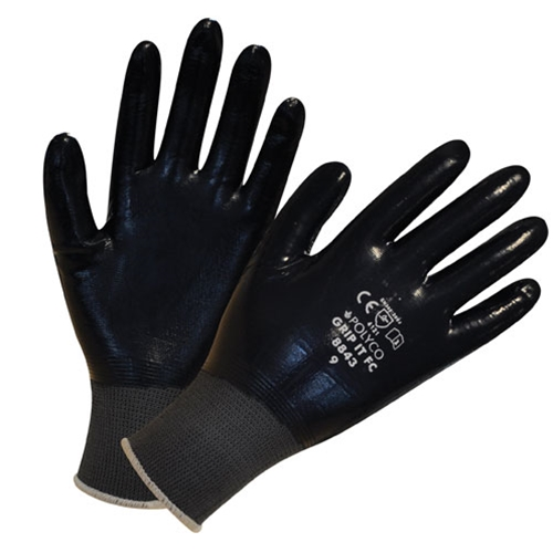GRIP IT FULLY COATED GLOVES Sizes: 8-11