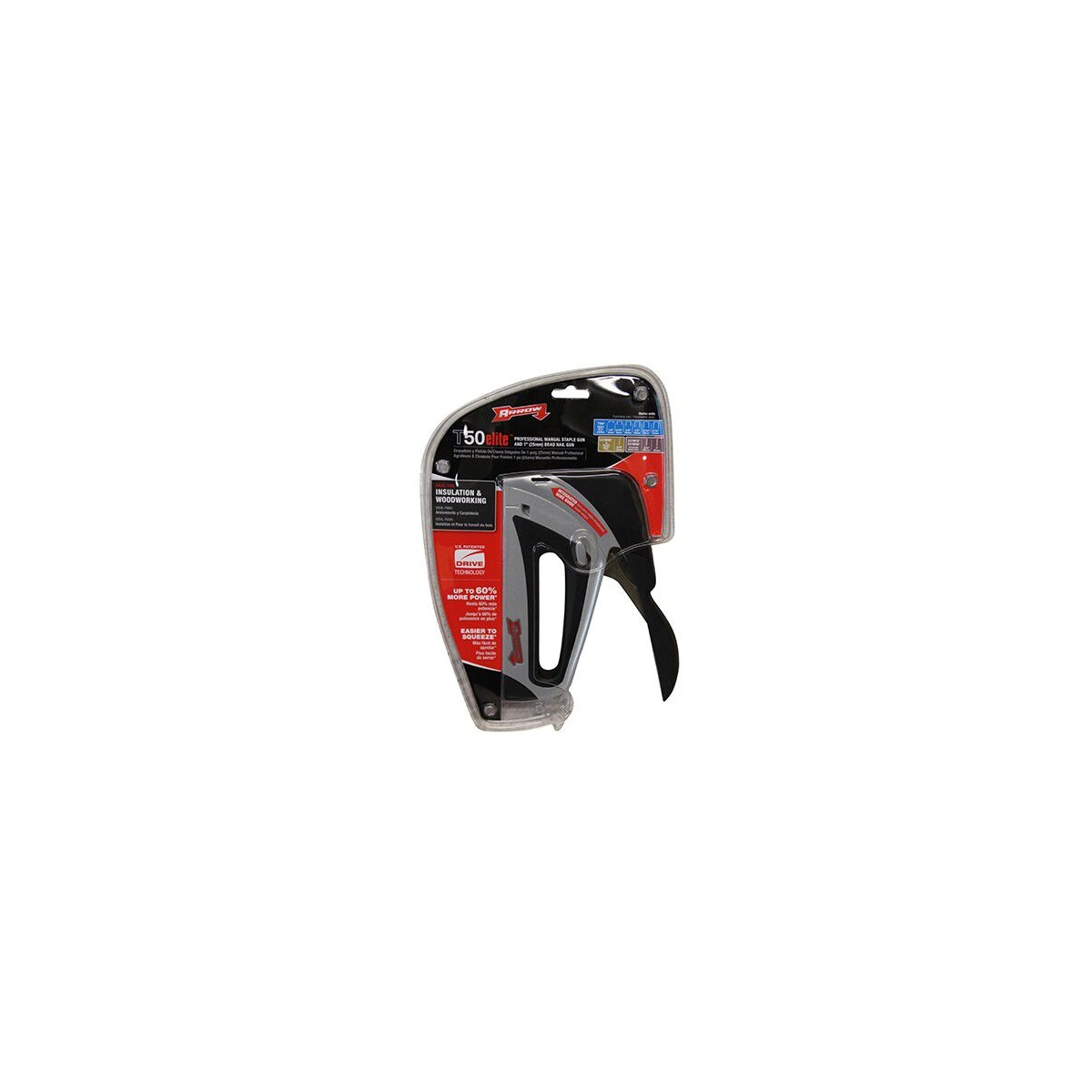 ARROW T50 ELITE STAPLE GUN (AT50ELITE)
