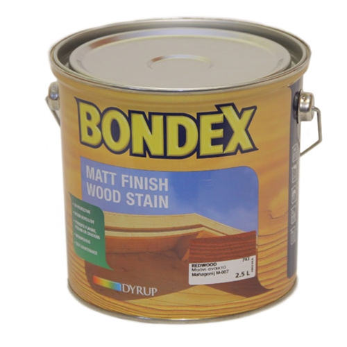 BONDEX 900 STAIN CLEAR 2.5LTR