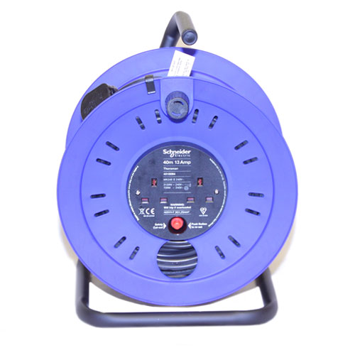 ELECTRIC 40M 13AMP CABLE REEL