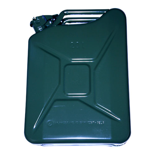 STEEL JERRY CAN 20LTR