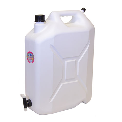 LORDOS PVC 20LTR JERRY CAN WITH TAP