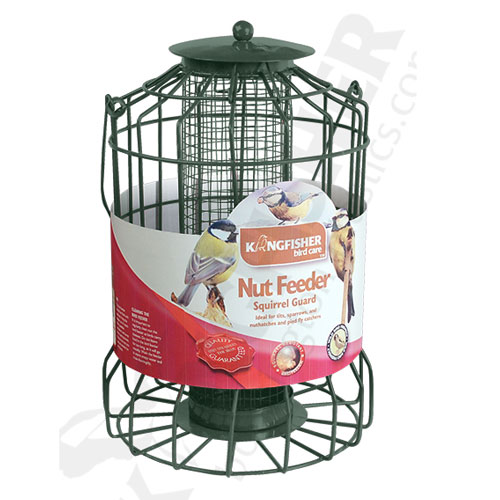 KINGFISHER SQUIRREL GUARD NUT FEEDER (BF008N)