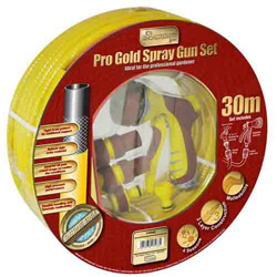 KINGFISHER YELLOW GOLD 30M HOSE + GUN SET (730SGS)