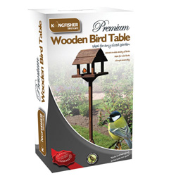 KINGFISHER DELUXE BIRD TABLE (BF009HD)
