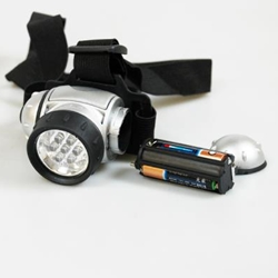 KINGFISHER 7 LED HEAD LIGHT TORCH (TRL4)