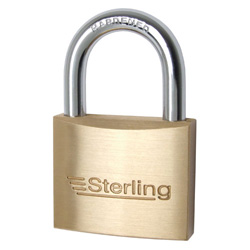 STERLING 20MM BRASS PADLOCK (BPL022)
