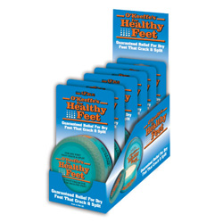 O'KEEFFES HEALTHY FEET CREAM X 6