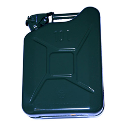 STEEL JERRY CAN 10 LT