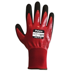 GRIP IT FULLY COATED GLOVES (OIL GRADE) Sizes 9-11