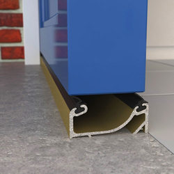 EXITEX DOUBLE SEALING SILL GOLD 914MM