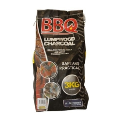 KINGFISHER 3KG BAG LUMP CHARCOAL